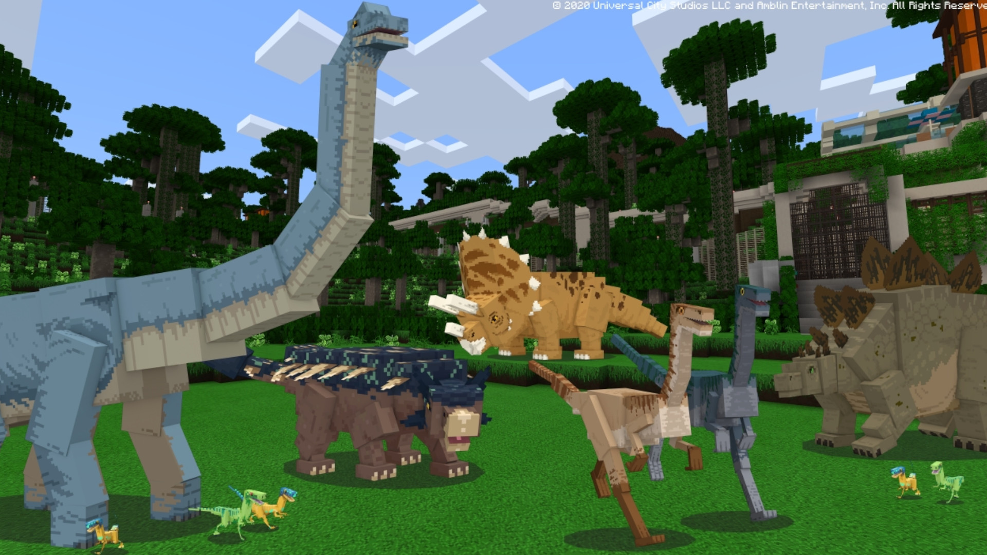 Mojang releases a Jurassic World DLC to Minecraft