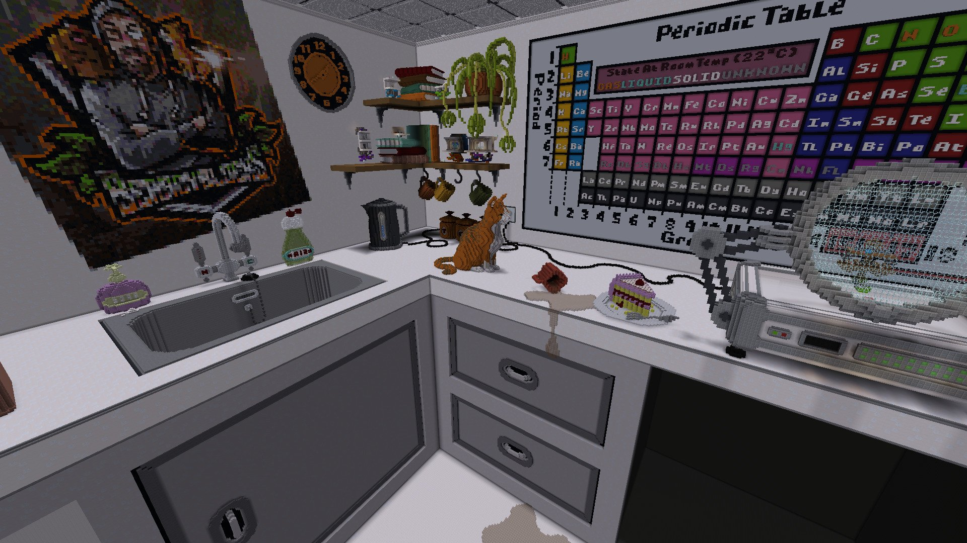 This Minecraft Chemistry Lab Not Only Looks Amazing But Also Uses No Mods!