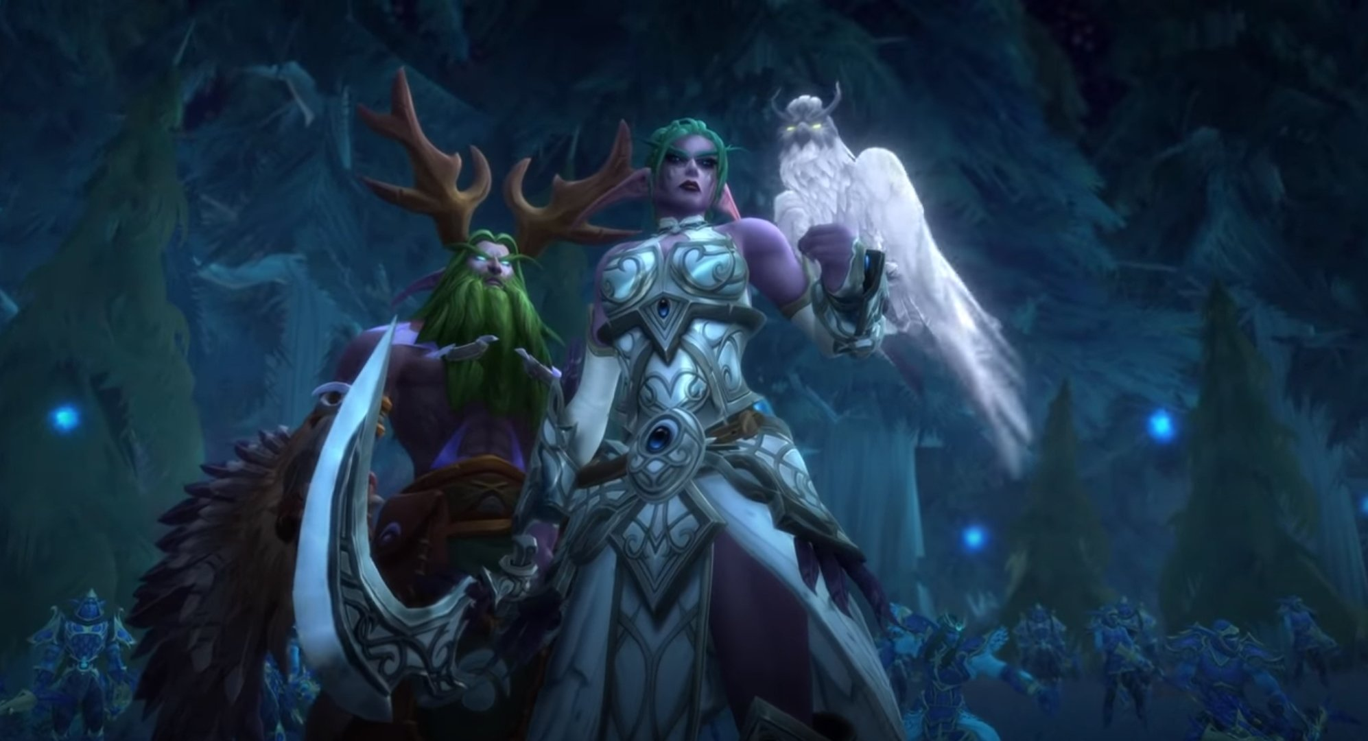 Blizzard Seems To Be Teasing A Return Of World Of Warcraft's Destroyed Night Elf Home, Teldrassil