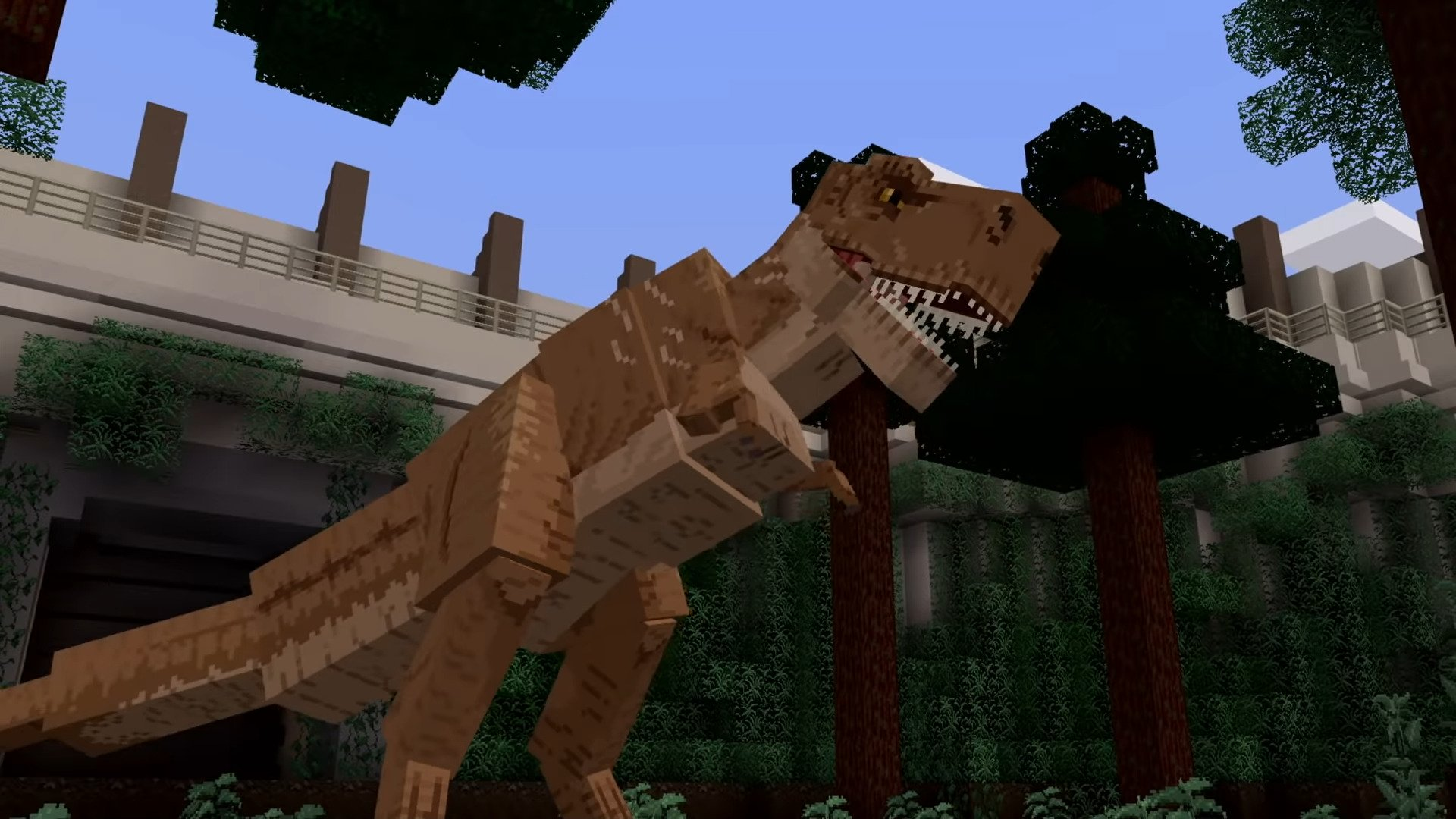Official Minecraft Jurassic World DLC Includes Over 60 Dinosaurs, A Huge Map And Plenty Of Adventure