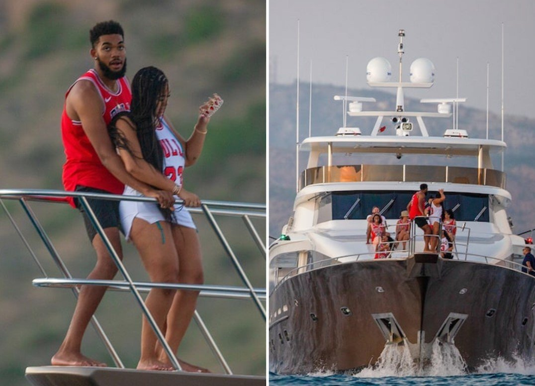 Jordyn Woods Officially Announces Romantic Relationship With Karl-Anthony Towns On Instagram – See Their Photo Here