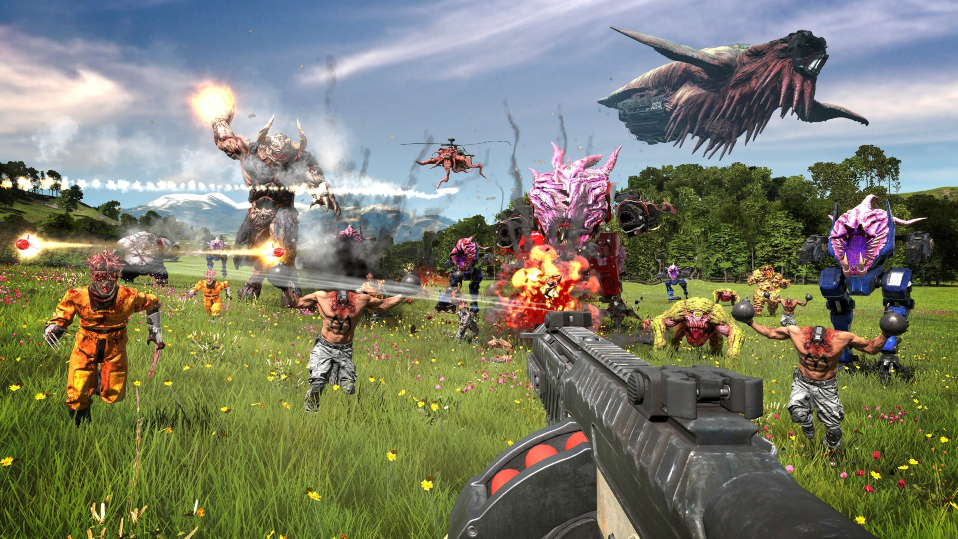 Contest: Win Serious Sam 4 for PC or Stadia