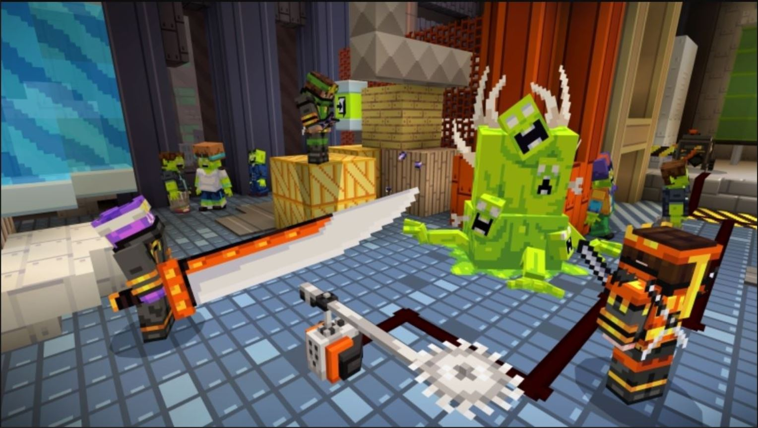Minecraft Marketplace Explored: Ninjas Of Zombie City: Becoming A Ninja, Minecrafter And A Zombie Hunter At The Same Time