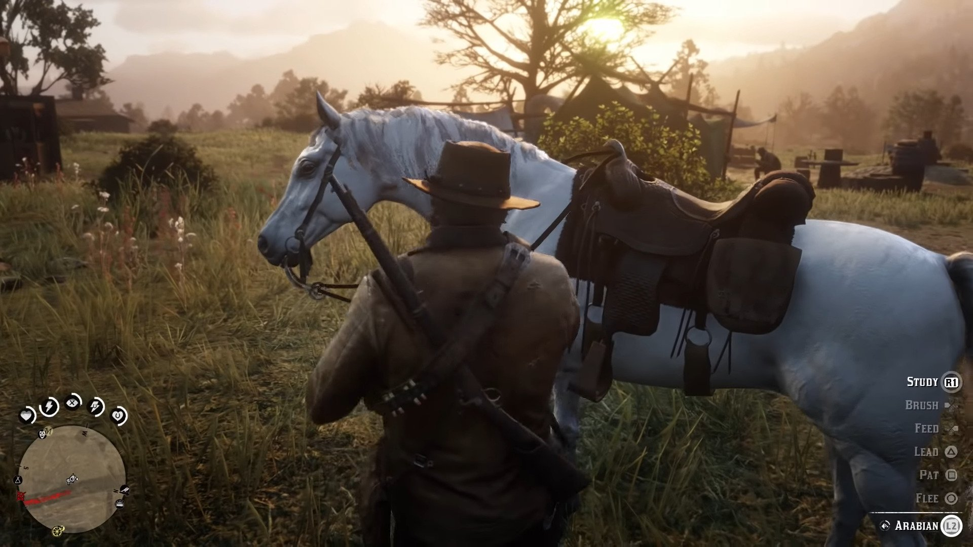 Red Dead Redemption 2: How To Find And Capture The Legendary White Arabian Race Horse