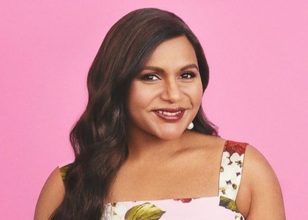 Mindy Kaling Is Blooming In Embroidered Blouse — See The Look