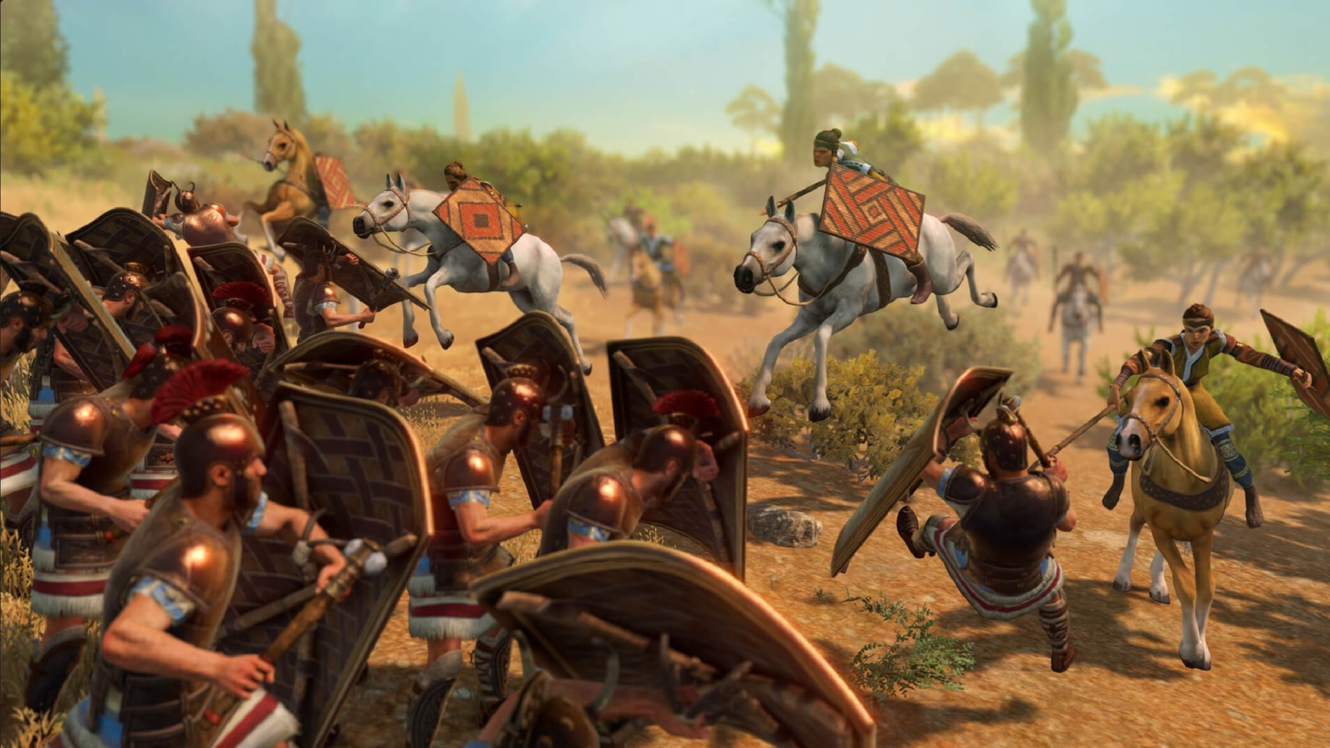 A Total War Saga: Troy's Amazons DLC will be free to keep until October