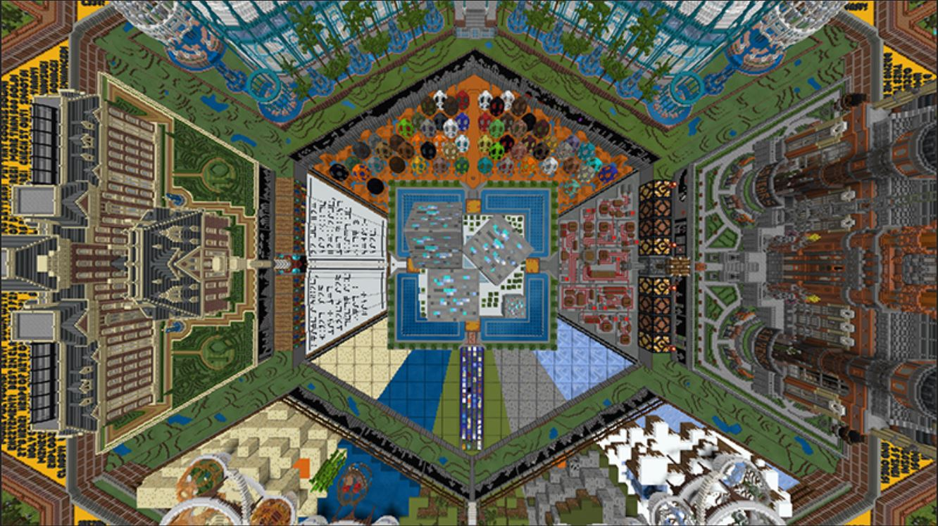 Minecraft Marketplace Explored: 10 Years Of Minecraft, A Celebratory Map For Long-Time Minecraft Players