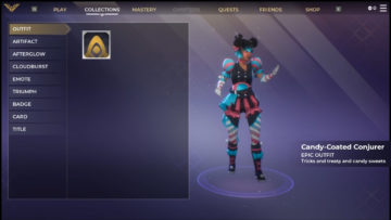 Spellbreak New Outfit Candy Coated Conjurer