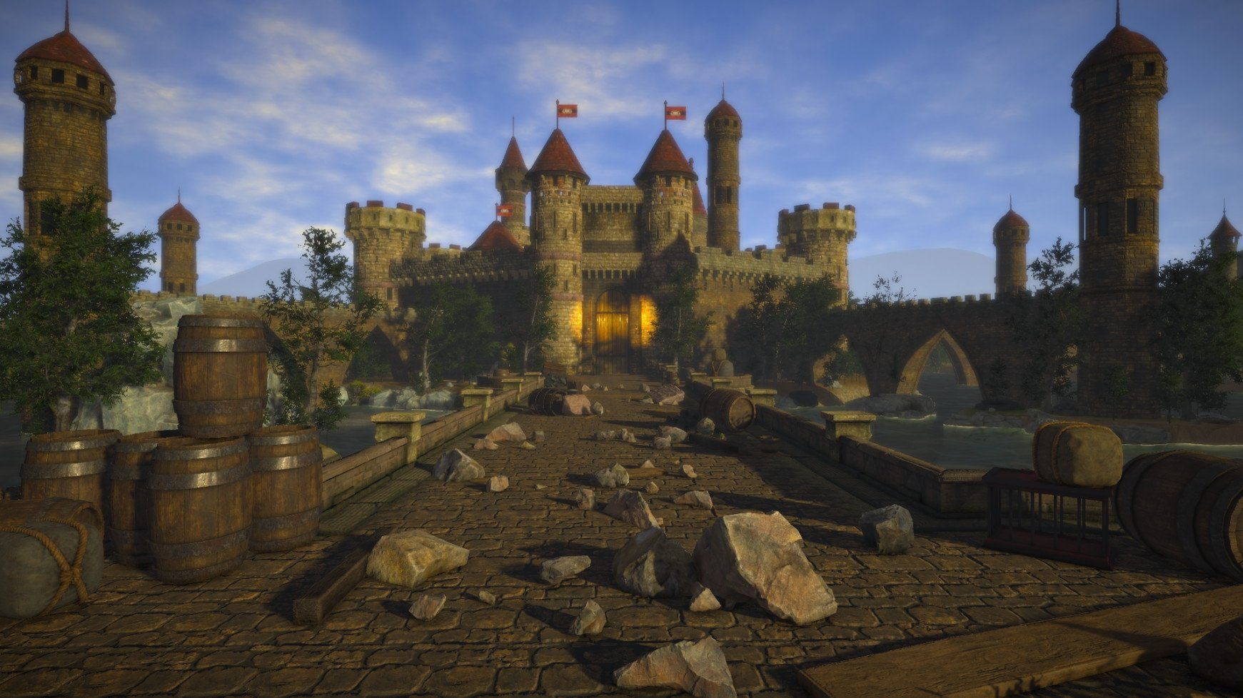 Become A Medieval Royal Craftsman In The Upcoming Simulation Game Castle Flipper