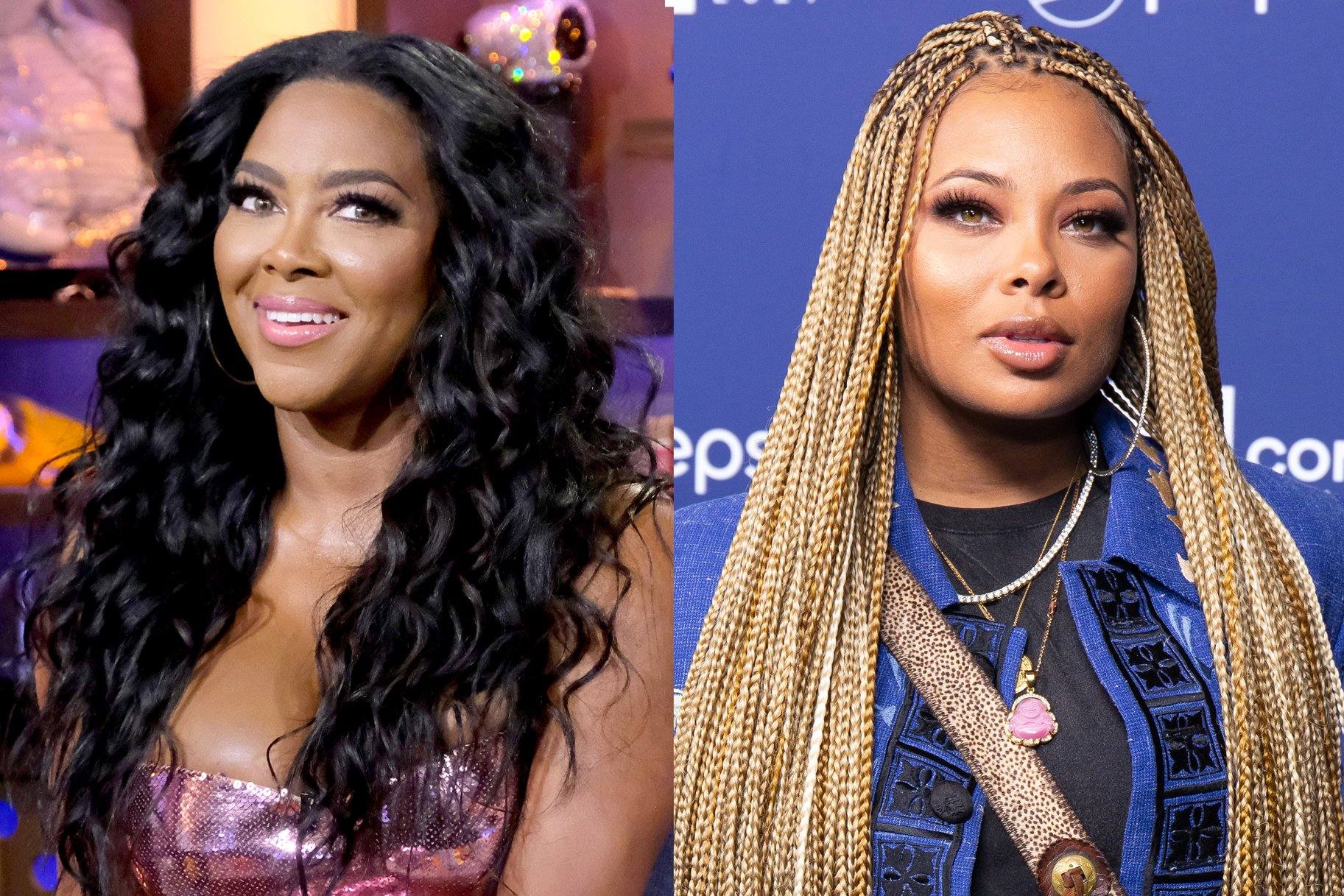 Kenya Moore Shares The Sweetest Photo Of Her Daughter, Brooklyn Daly And Her BFF, Eva Marcille's Boy, Mikey