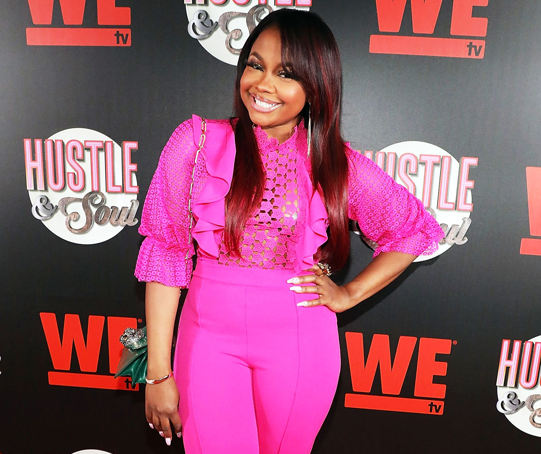 Phaedra Parks Looks Gorgeous In The Marriage Boot Camp Season Finale On WeTV