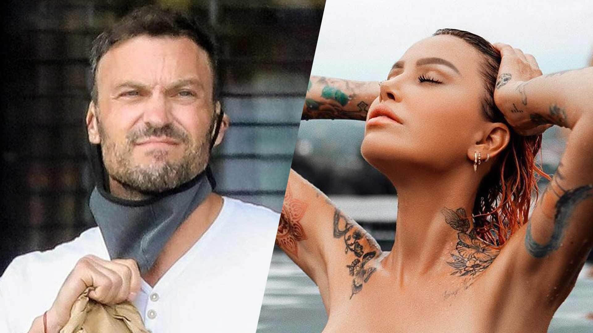 Brian Austin Green: Hanging Out With Fling Tina Louise Reportedly 'Makes Him Happy' – Here's Why!