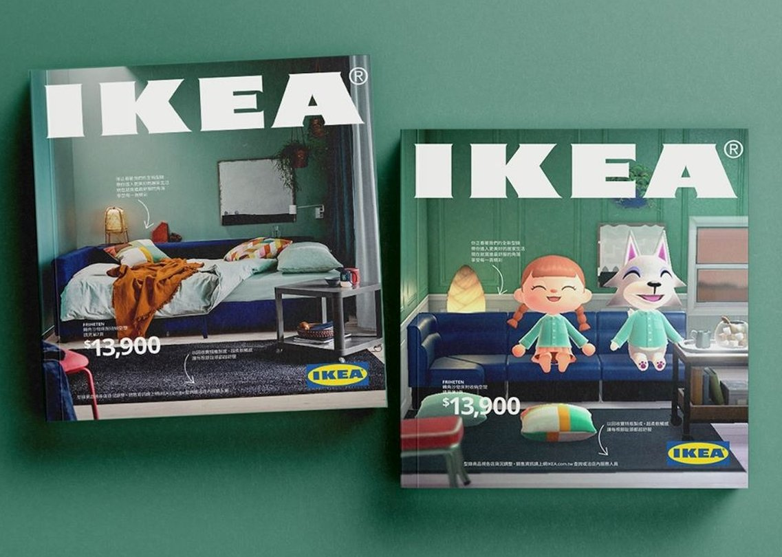 IKEA Taiwan Recreates 2021 Catalog In Animal Crossing: New Horizons