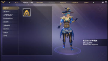 Spellbreak New Outfit Fashion Witch