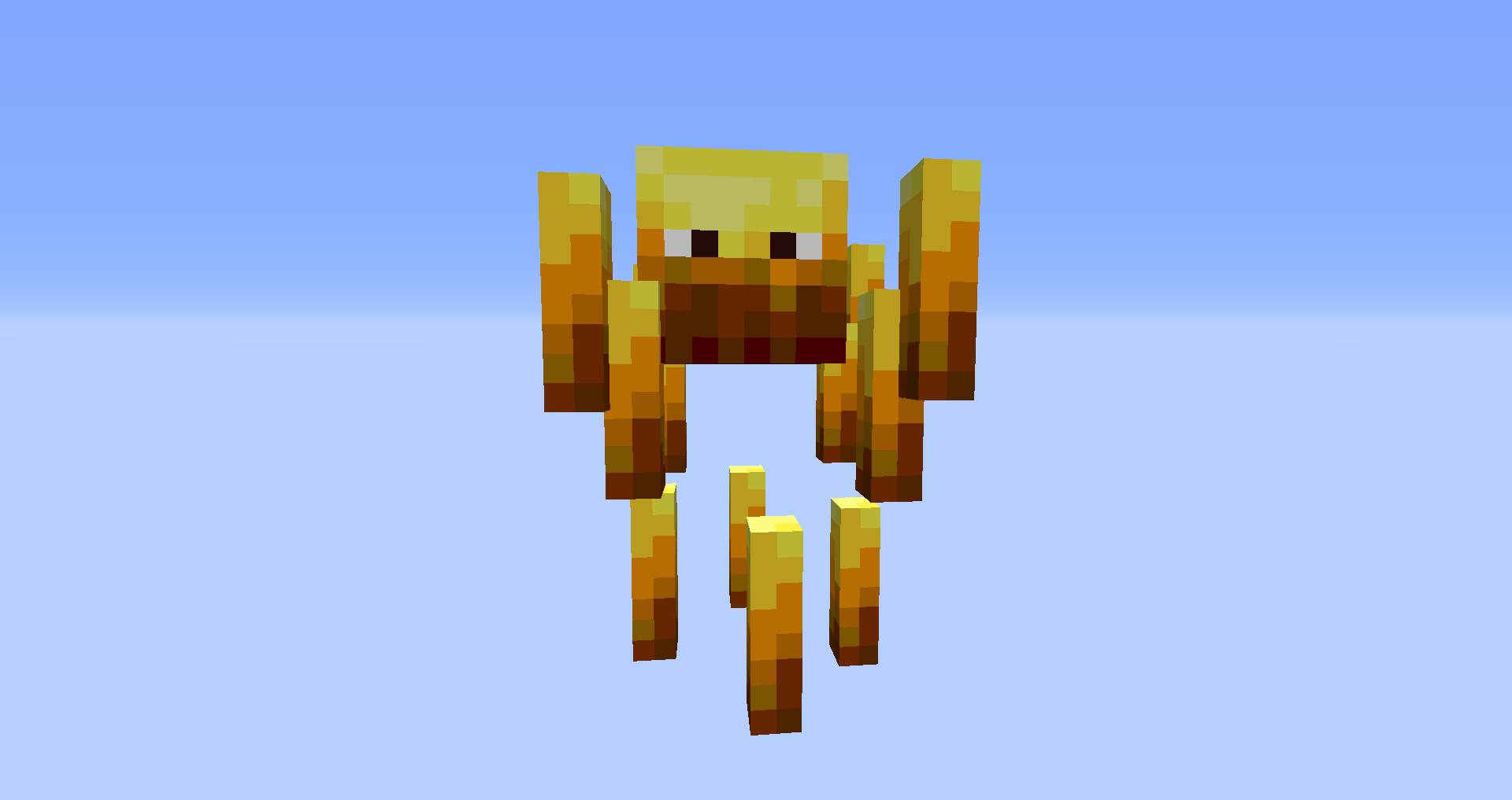 Minecraft Mobs Explored: Blaze, A Fiery Mob That Throws Non-Explosive Fireballs At Any Player Nearby!