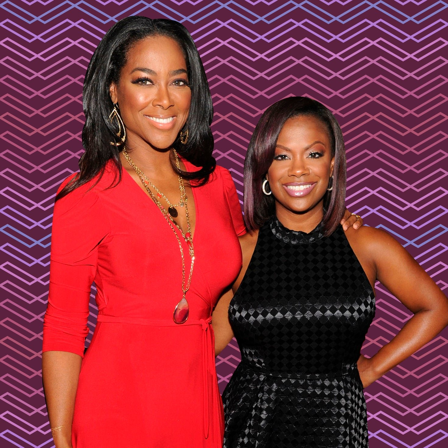 Kandi Burruss Hangs Out With Kenya Moore – Check Out The Gorgeous Ladies