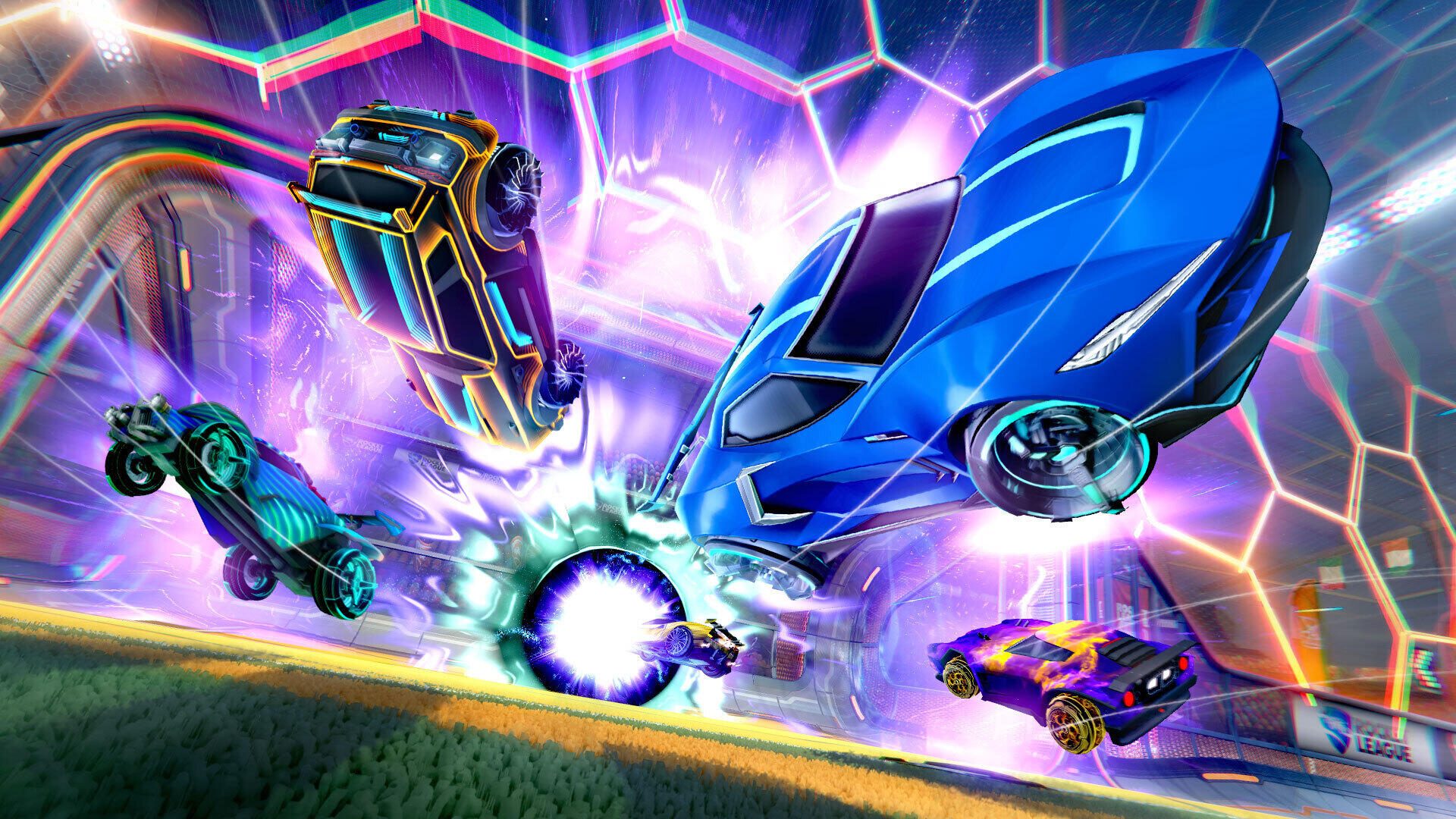 The Fortnite Battle Bus vehicle is coming to Rocket League