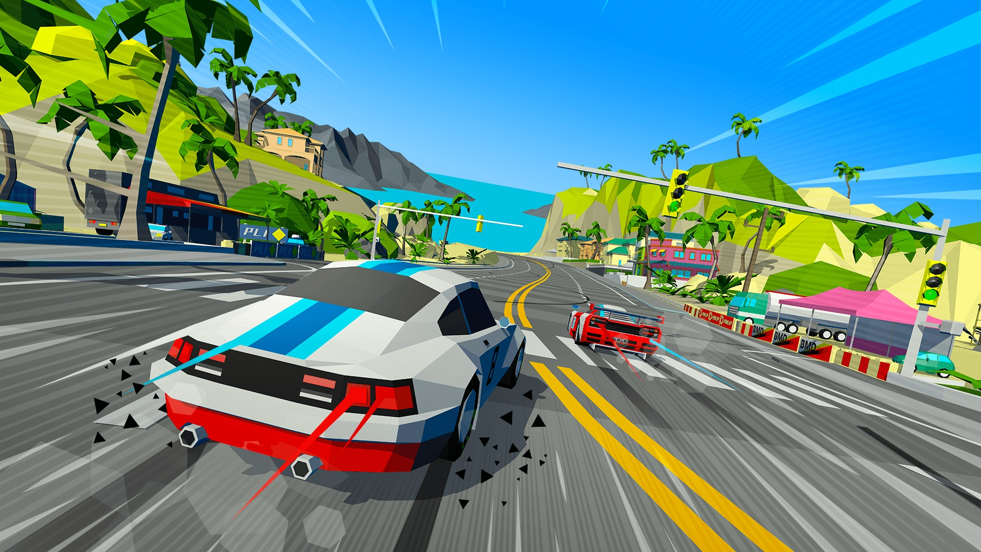 Contest: Win Hotshot Racing for Xbox One, PS4, or PC