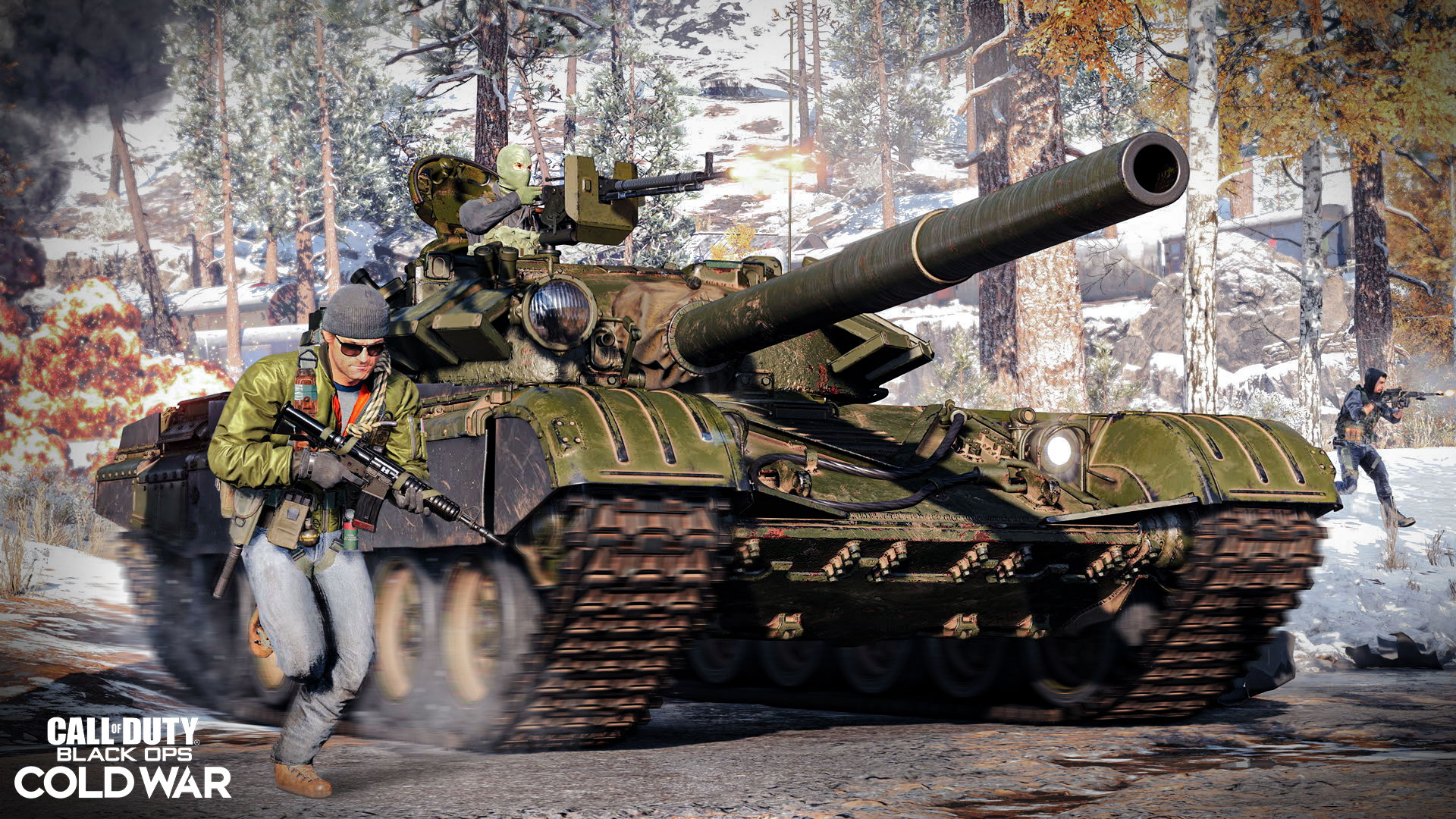 Call of Duty: Black Ops Cold War vehicles will have shooting while driving