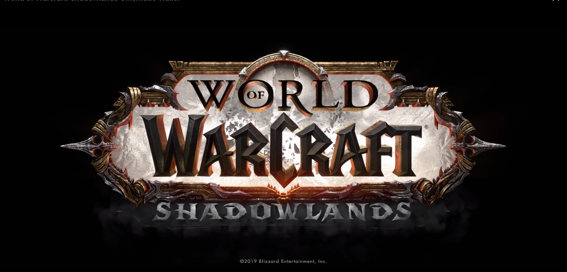 World Of Warcraft Game Director Ion Hazzikostas Releases Development Blog On Upcoming Shadowlands Expansion
