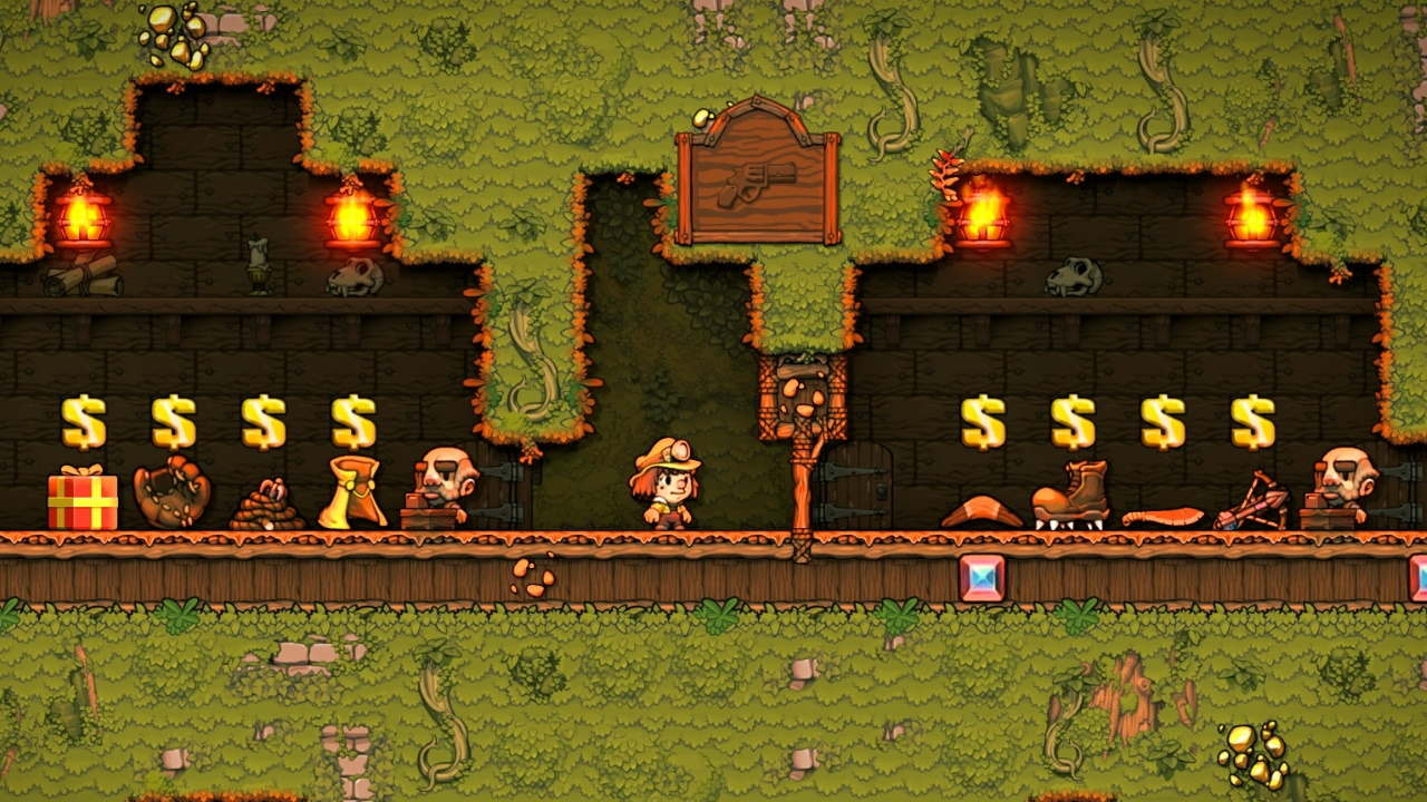 Spelunky 2 guide: How to find the Black Market and get the Hedjet