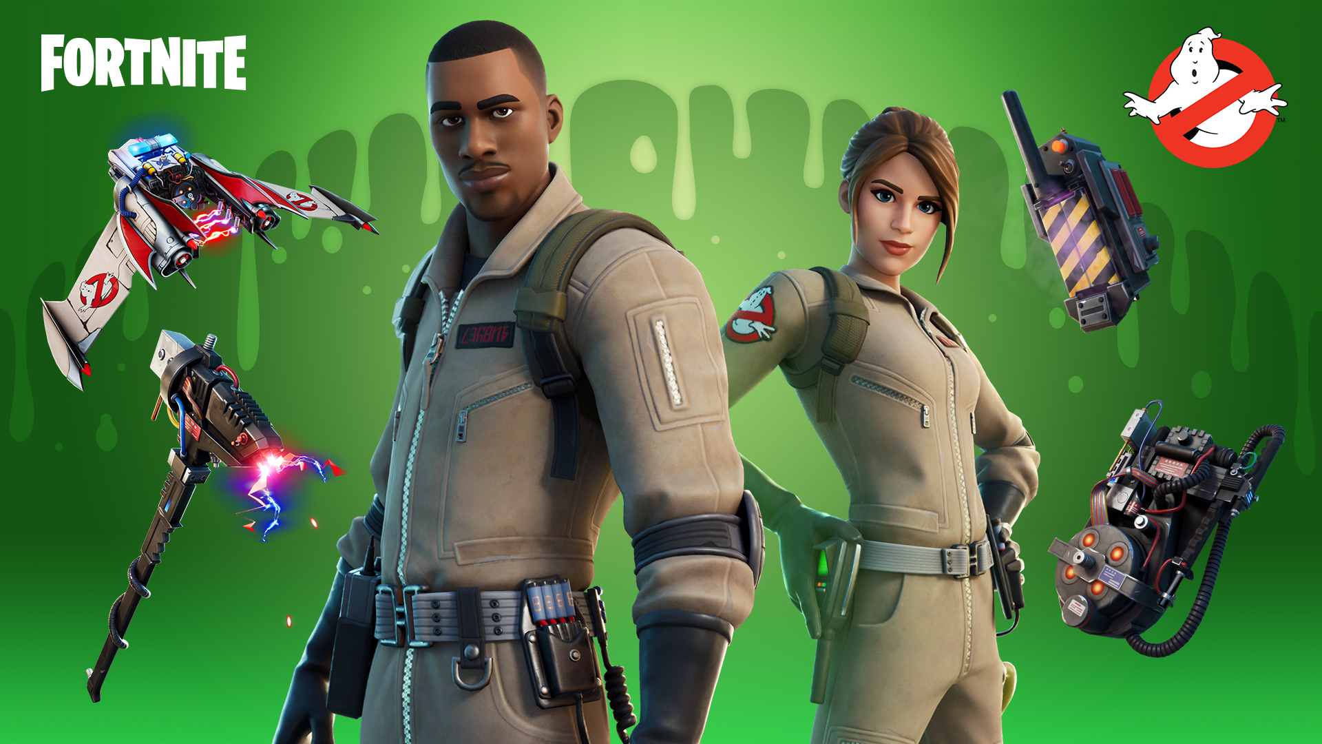 Celebrate Halloween with new Fortnite Ghostbusters skins and cosmetics
