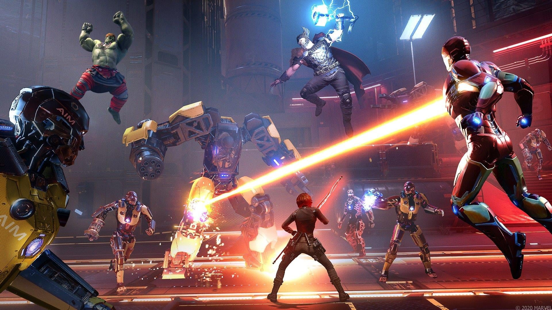 Marvel's Avengers Steam Charts show low player population, devs promise changes