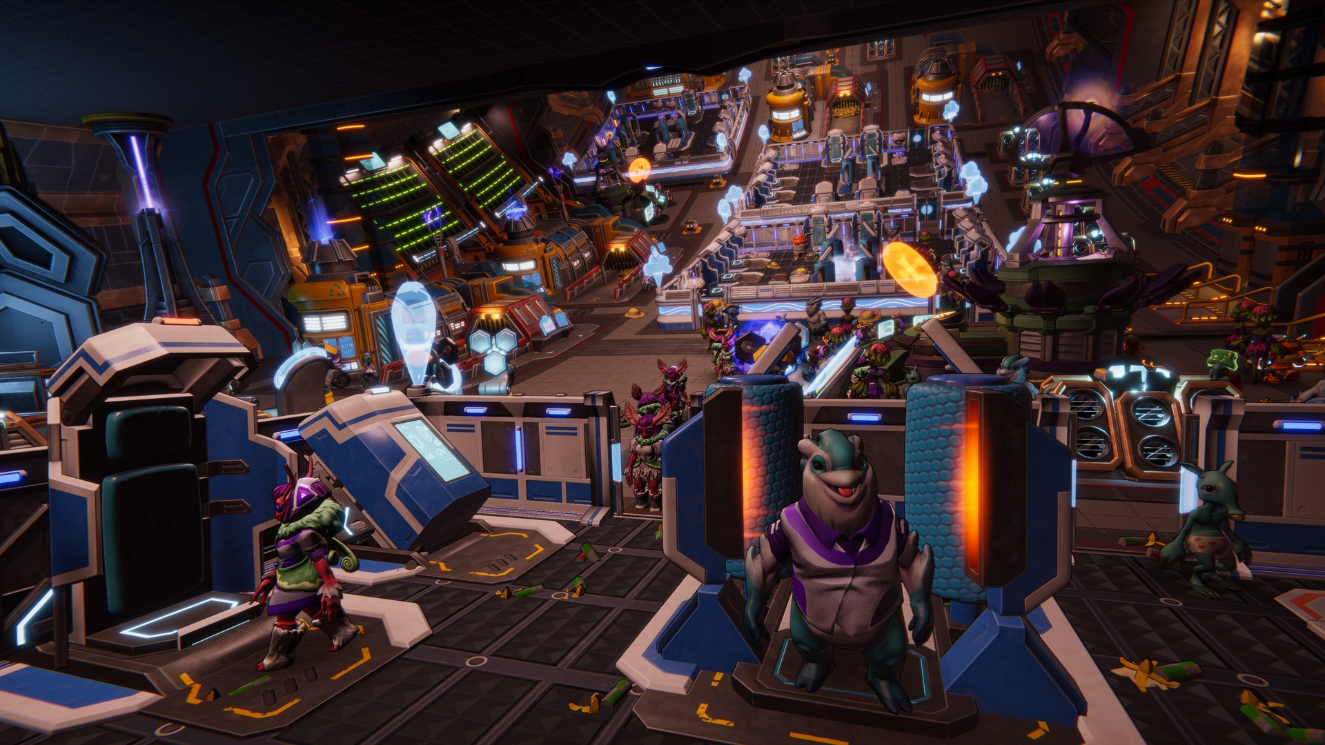 Space Management Sim Spacebase Startopia Delayed Until Spring 2021