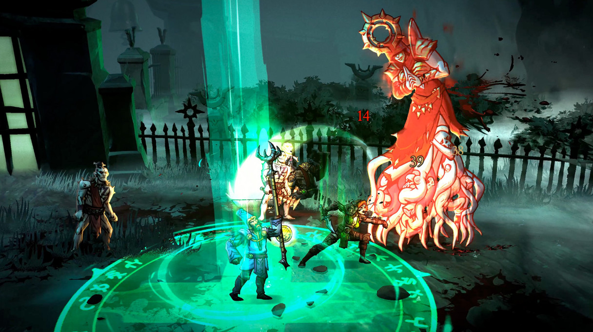Blightbound update adds dungeon crawling AI partners