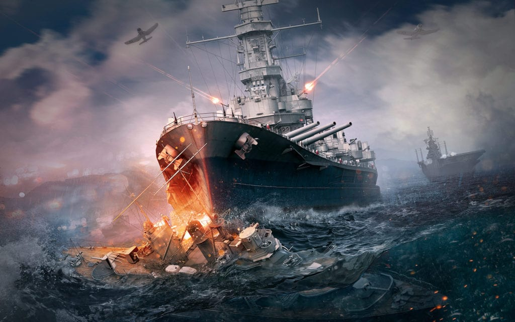 World of Warships introduces new U.S battleships in latest update