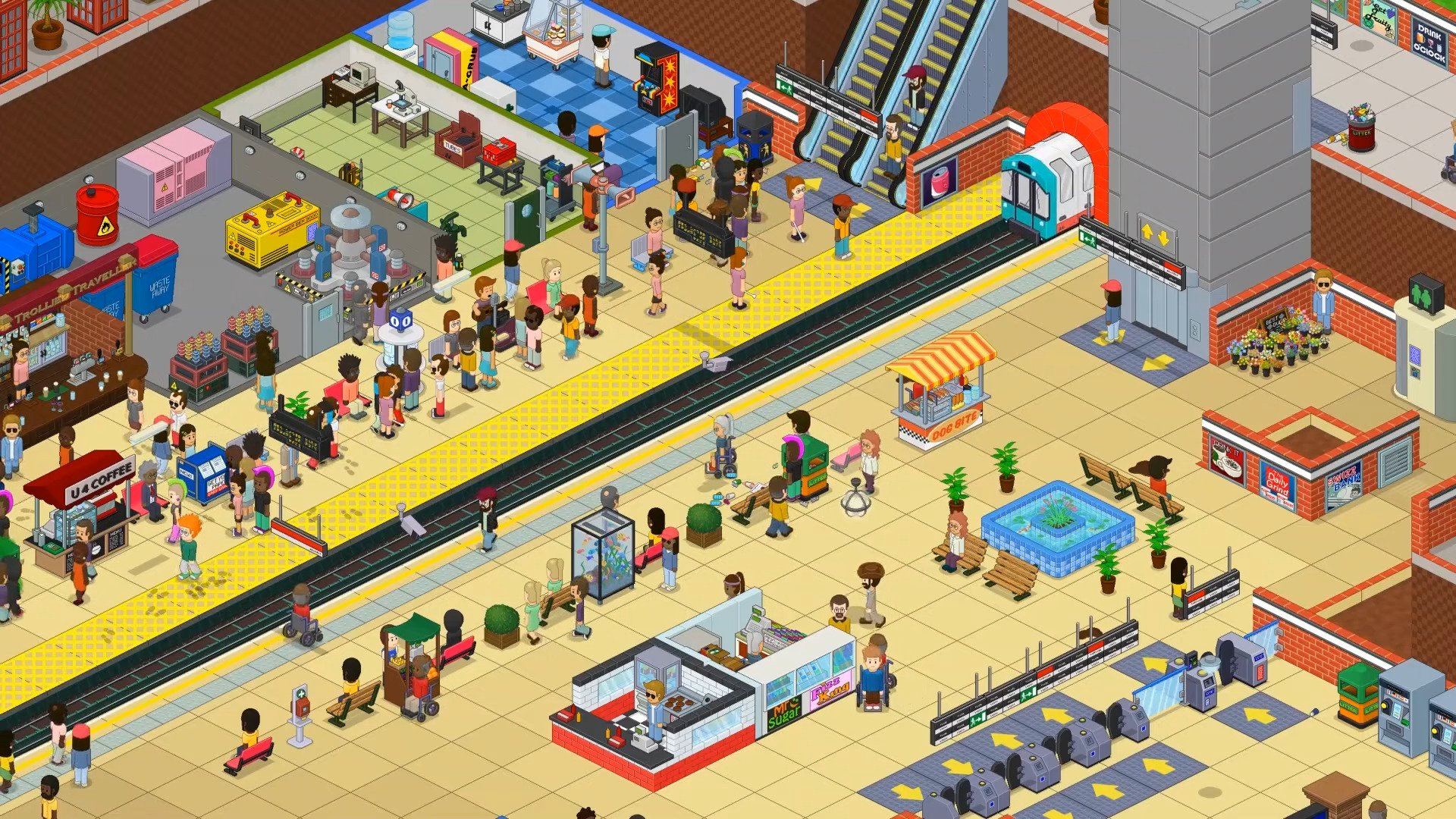 Overcrowd: A Commute 'Em Up Full Release Review – A Sim Management Game With A Difference