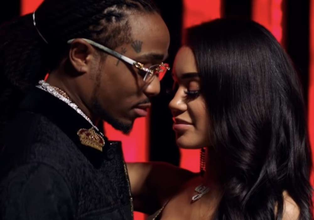 Quavo Shows The IG Message That Led To His Relationship With Saweetie