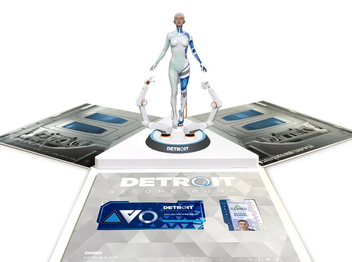 Quantic Dream Releases Detroit: Become Human Collectors' Edition For PC