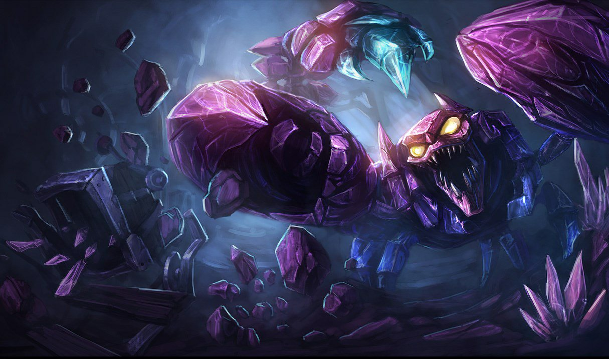 League Of Legend's Skarner Community Is Upset That The Champion Hasn't Received A Single Skin In Over Five Years