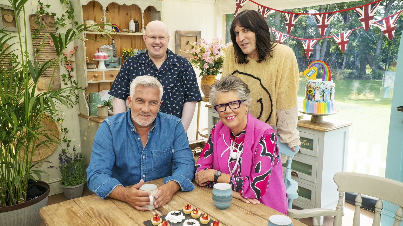 'I'm Happy To Eat The Cakes': Matt Lucas Joins The 'Bake Off' Tent