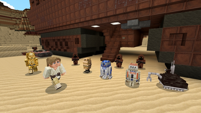 New Minecraft Star Wars crossover brings Baby Yoda to a new world