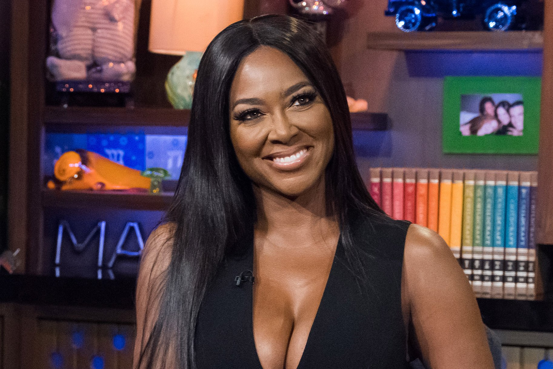 Kenya Moore's Latest Photo Post Her Meeting With Wendy Williams Has Fans Praising Her Beauty