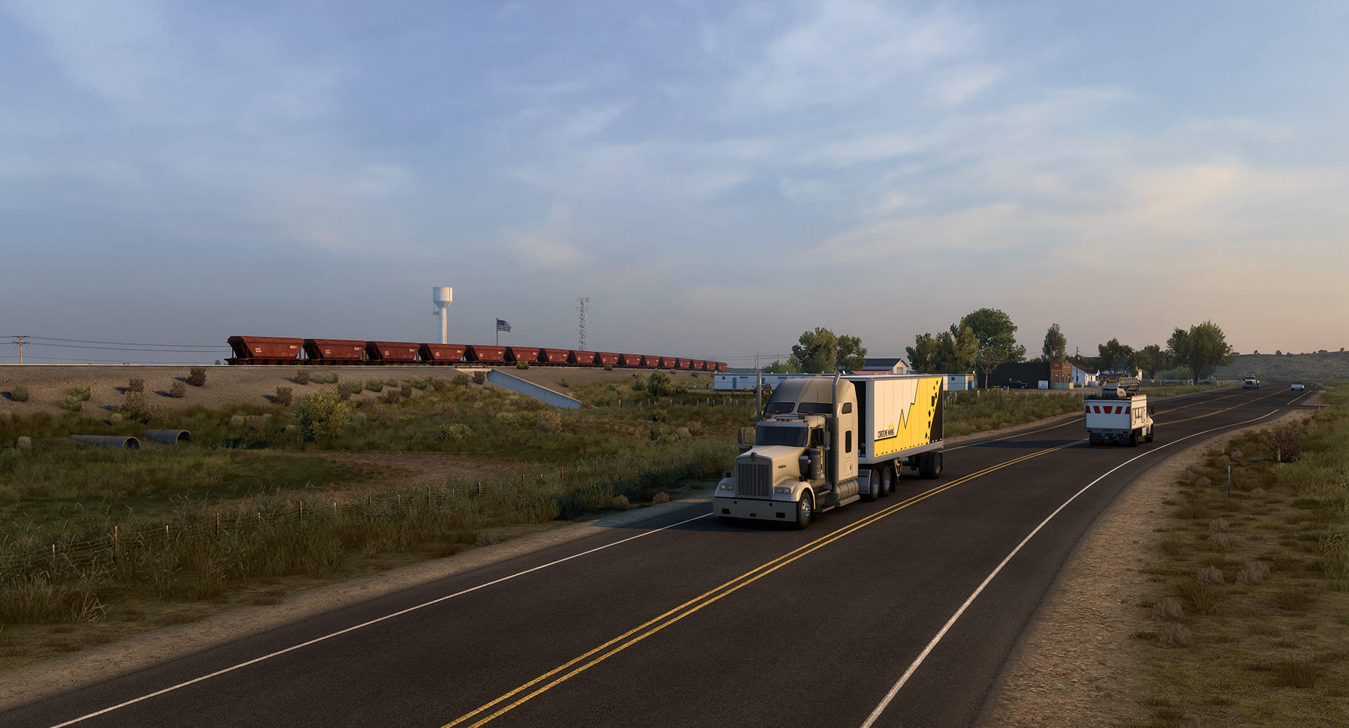 American Truck SimulatorWyoming DLC will see a graphical overhaul
