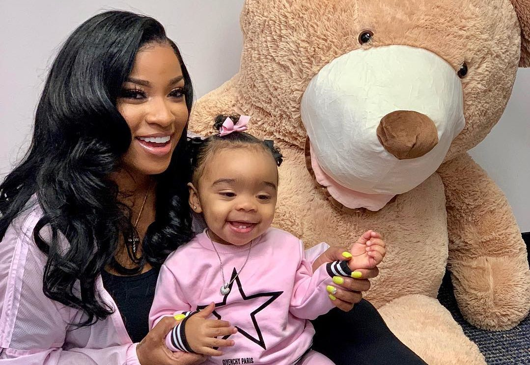 Toya Johnson's Video Featuring Reign Rushing Dancing Will Make Your Day – Watch It Here!