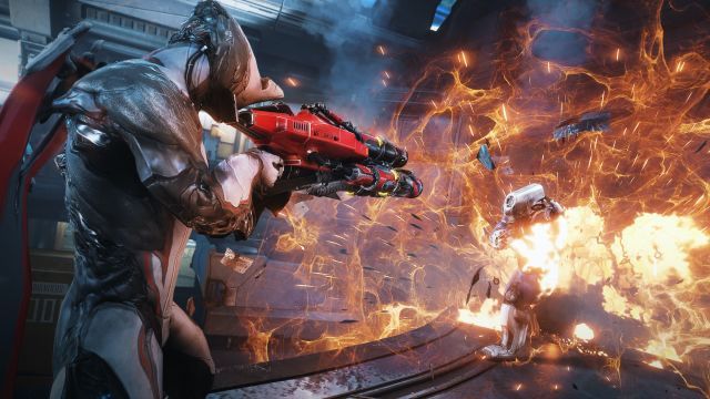 Warframe's arrival on Epic Store comes with the Warframe Unreal Tournament Weapon Bundle