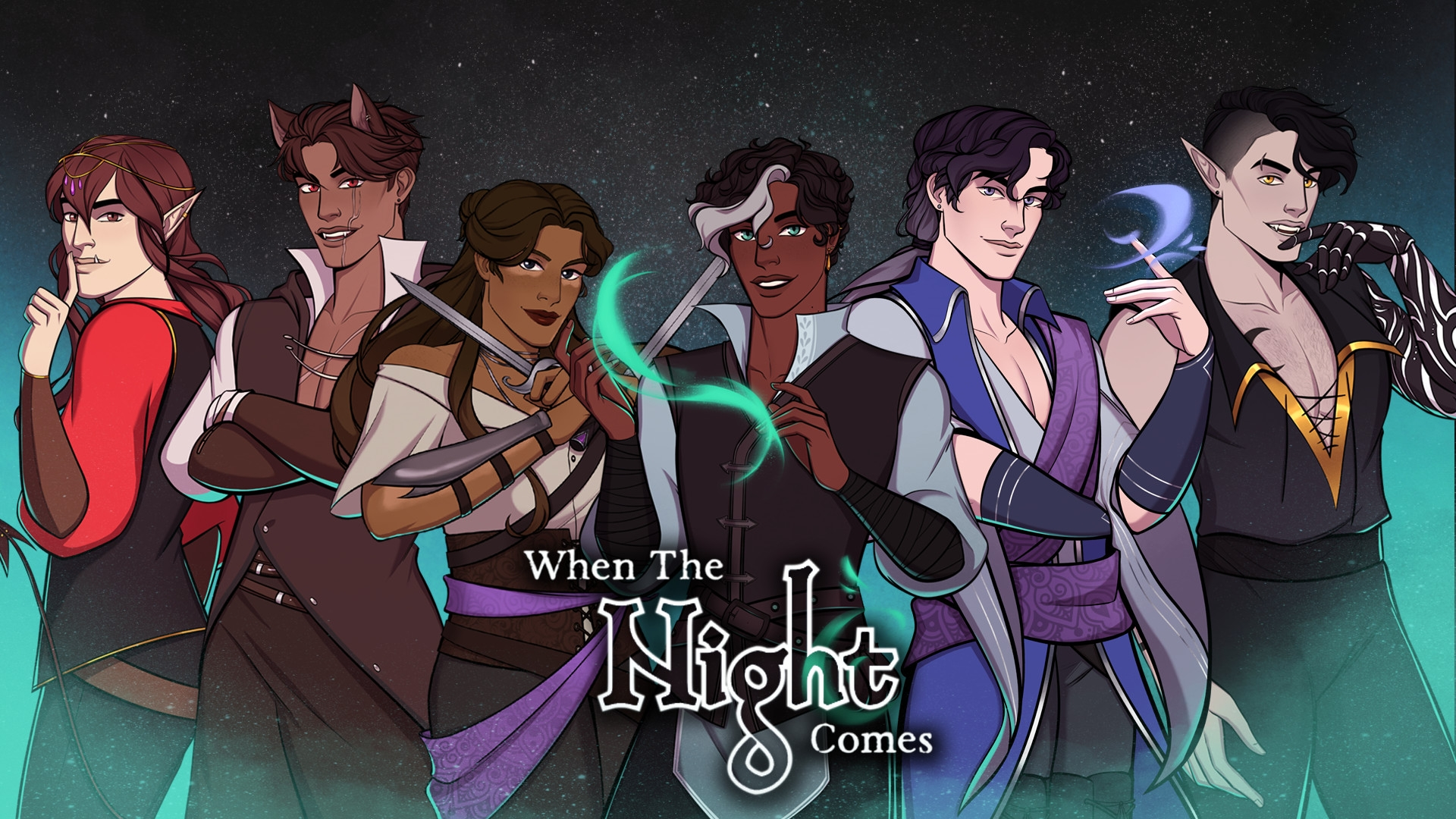 When The Night Comes – The ReVamp Visual Novel Plans For February Launch With Steam Page Available Now
