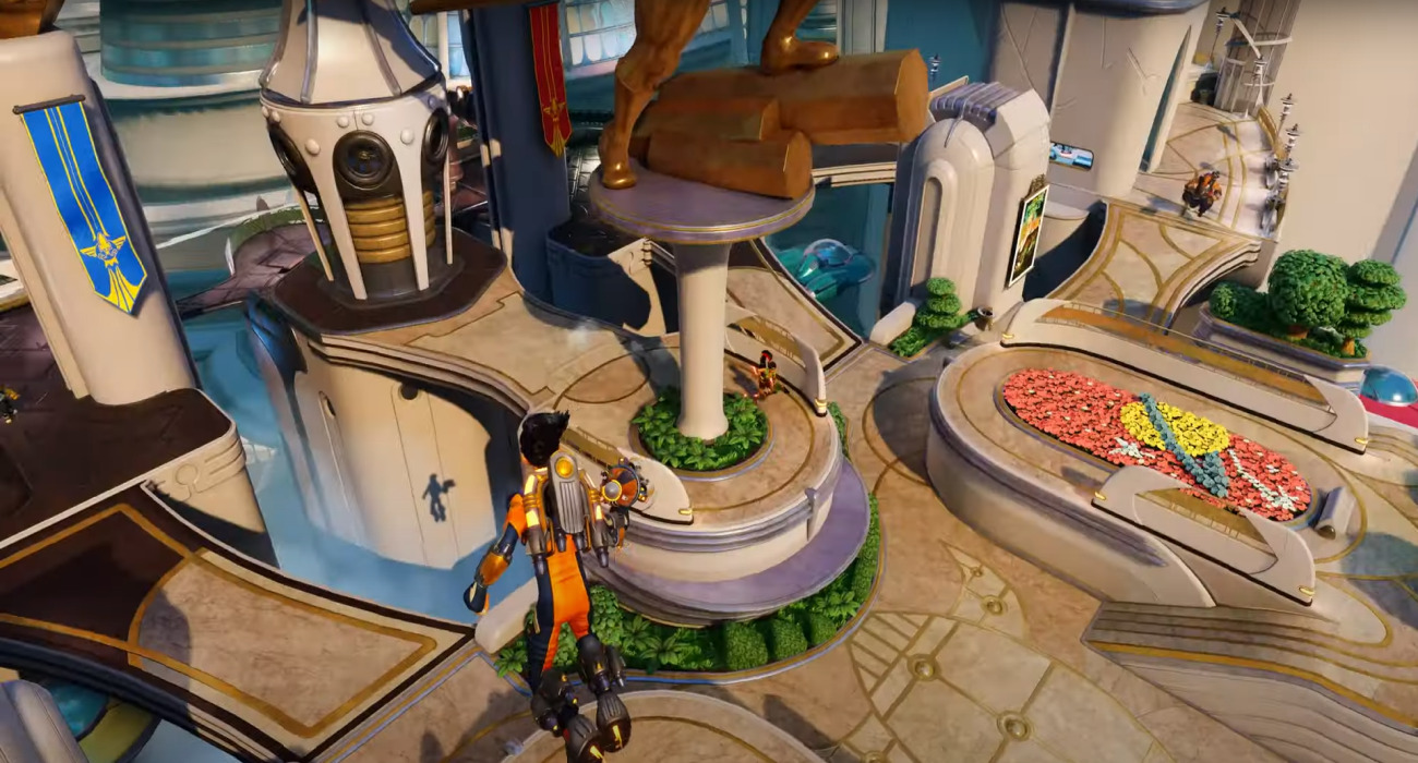 The Competitive Shooter Rocket Arena Is Still Free For PS Plus Members