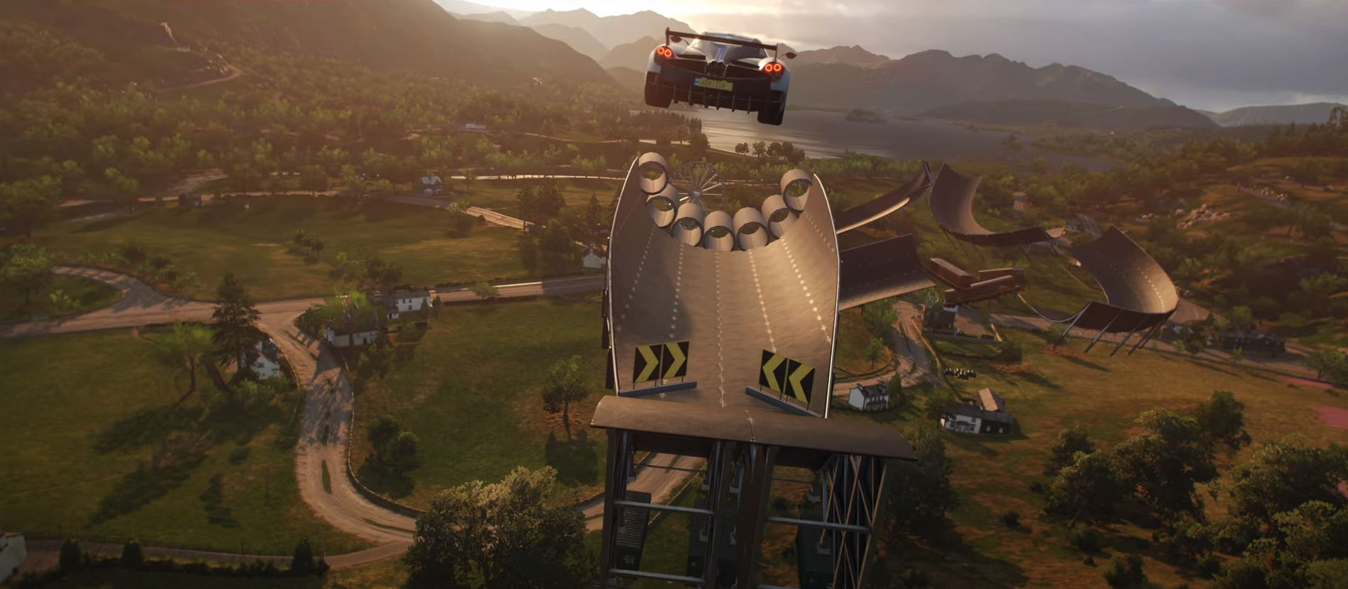 Forza Horizon 4 gets a new stunt-based game mode called Super7