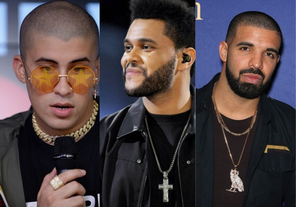 Bad Bunny The Weeknd And Drake Are Among The Most Listened To On Spotify This Year
