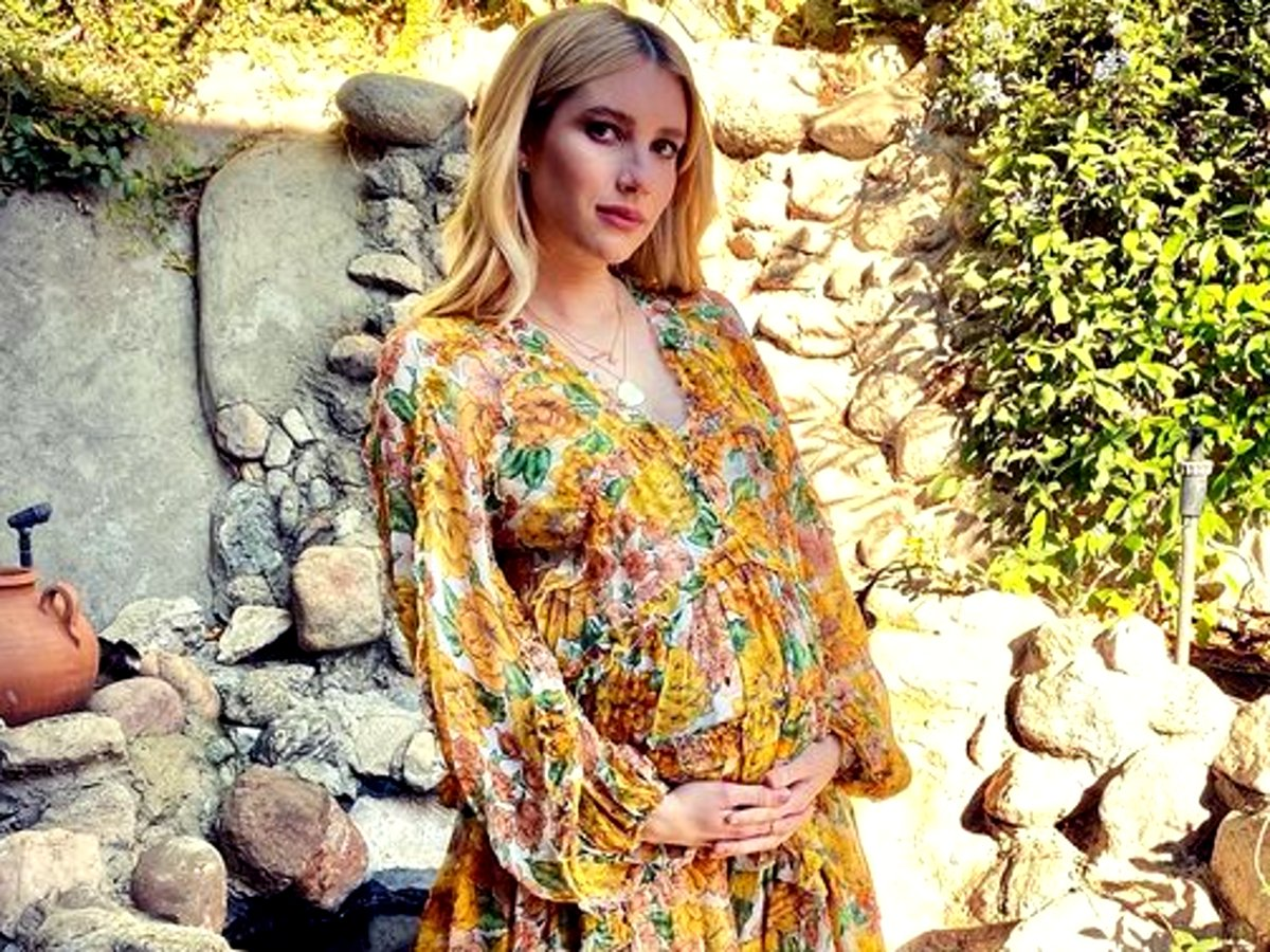 Emma Roberts To Give Birth Any Day Now