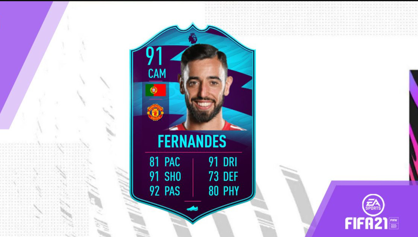 Should You Do The Bruno Fernandes POTM SBC In FIFA 21? Brilliant Card, But Very Expensive