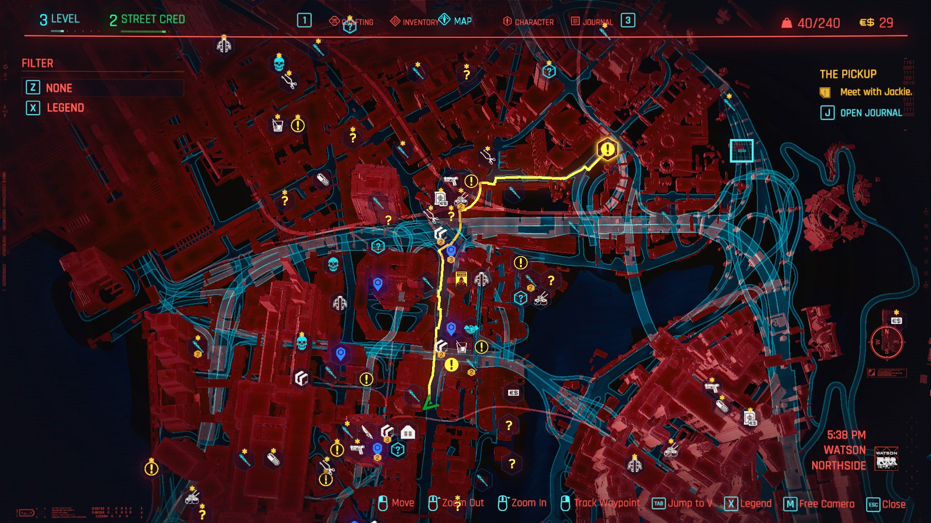 Cyberpunk 2077: How to fast travel through Night City