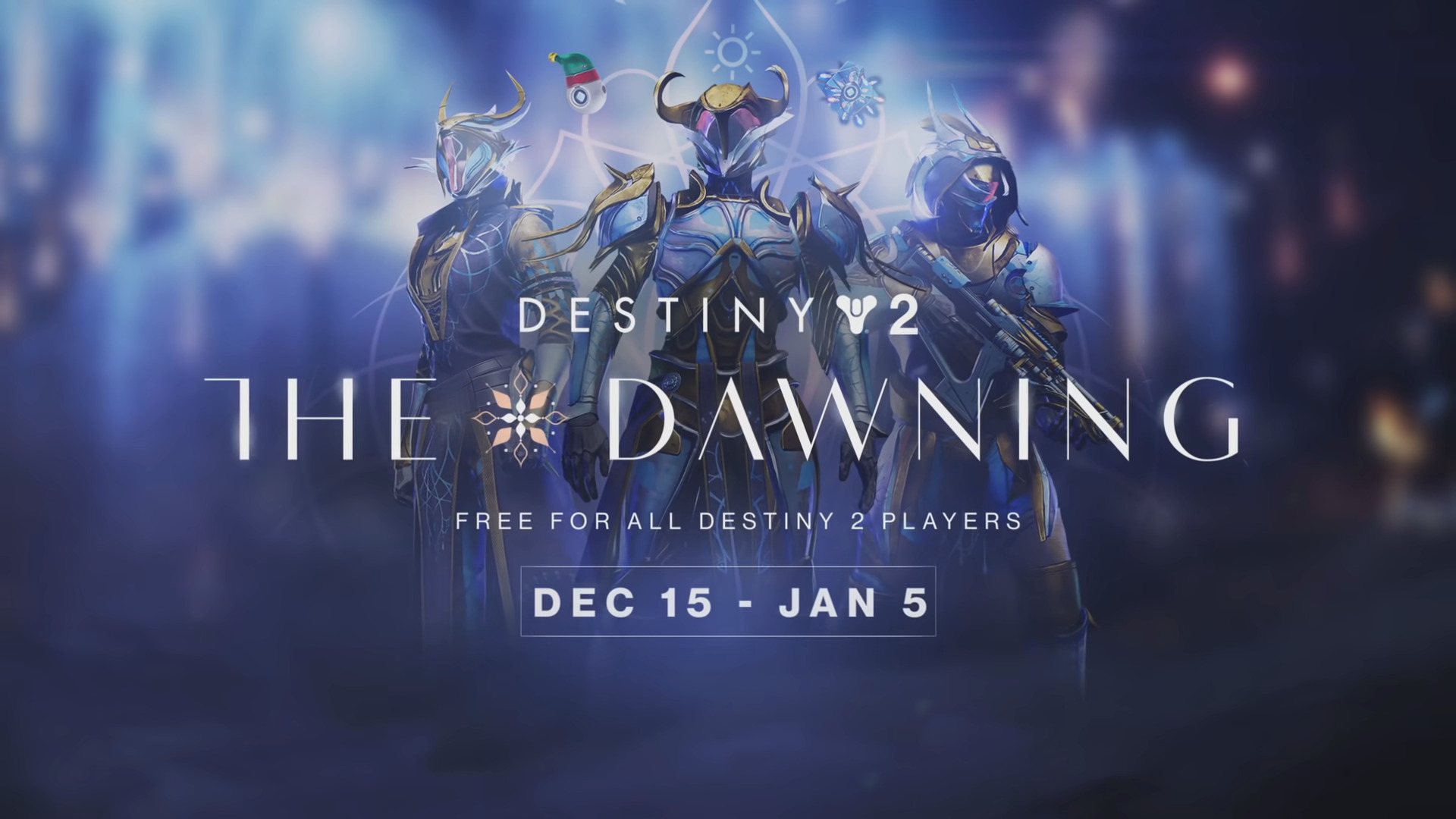 Destiny 2: The Dawning Winter Holiday Trailer Released – Event Begins December 15th, 2020